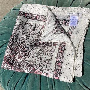 Rebecca Minkoff Silk Handkerchief Paisley Square